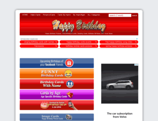 happybirthdaypics.net screenshot