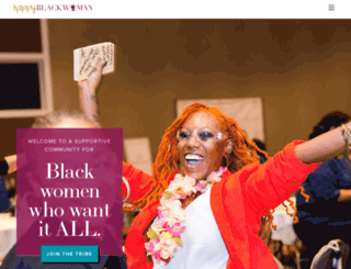 happyblackwoman.com screenshot