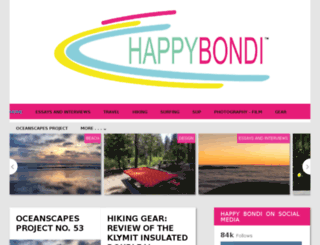 happybondi.com screenshot
