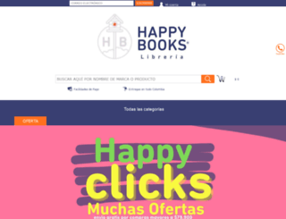 happybooks.com.co screenshot
