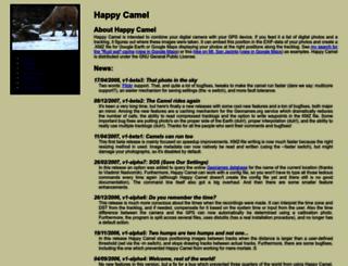 happycamel.sourceforge.net screenshot