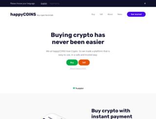 happycoins.com screenshot