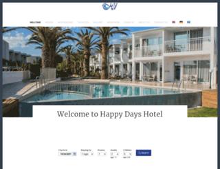 happydayshotel.com screenshot