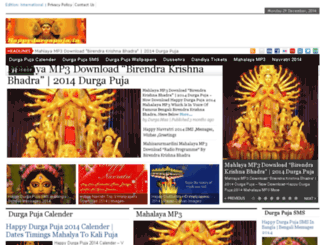 happydurgapuja.in screenshot