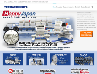 happyemb.com screenshot