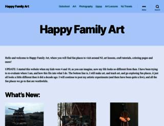 happyfamilyart.com screenshot