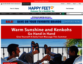 happyfeet.com screenshot