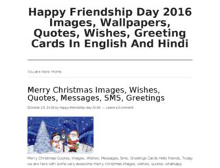 happyfriendshipday2016.org screenshot
