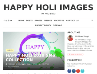 happyholi-images.in screenshot