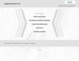 happyhoundhotel.com screenshot