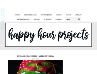happyhourprojects.com screenshot