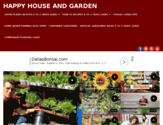happyhouseandgarden.com screenshot