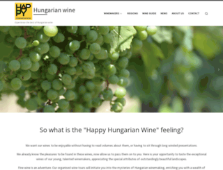 happyhunwine.com screenshot
