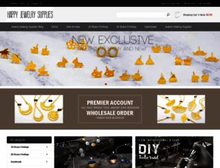 happyjewelrysupplies.com screenshot