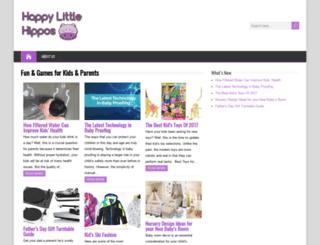 happylittlehippos.com.au screenshot