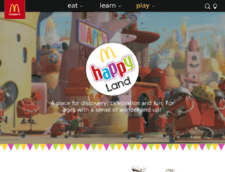 happymeal.com.au screenshot