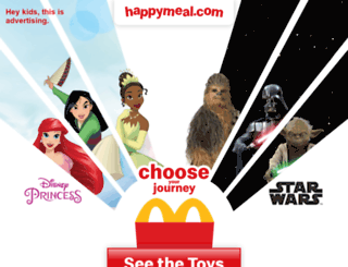 happymeal.com screenshot