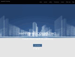 happymindconsulting.com screenshot