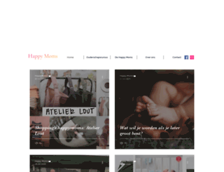 happymoms.nl screenshot