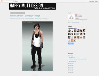 happymuttdesign.blogspot.co.uk screenshot