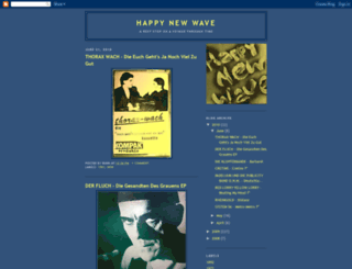 happynewwave.blogspot.com screenshot