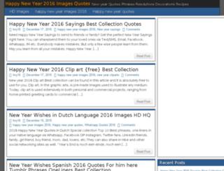 happynewyear2016imagesquotes.com screenshot