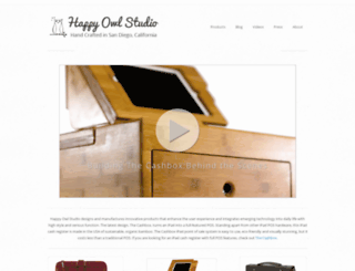 happyowlstudio.com screenshot