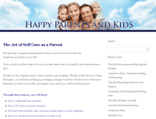 happyparentsandkids.com screenshot