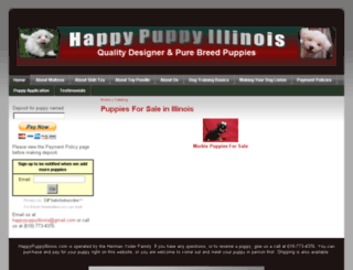 happypuppyillinois.com screenshot