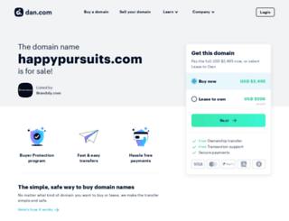 happypursuits.com screenshot