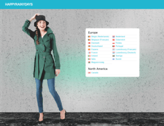 happyrainydays.com screenshot