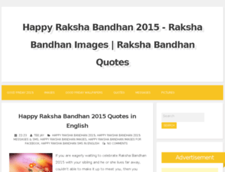 happyrakshabandhan2015s.com screenshot
