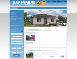 happyreal.sk screenshot