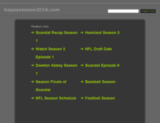 happyseason2016.com screenshot
