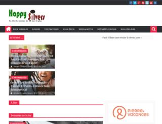 happysilvers.com screenshot