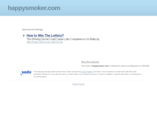 happysmoker.com screenshot
