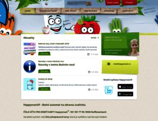 happysnack.cz screenshot