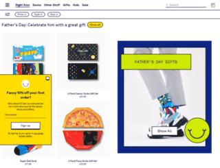 happysocks.co.uk screenshot
