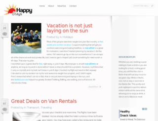 happystays.com.au screenshot