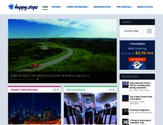 happysteps.net screenshot