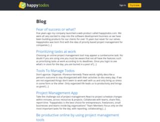 happytodos.com screenshot