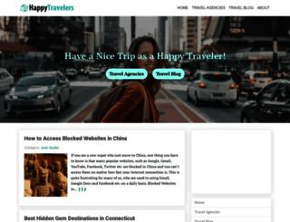 happytravelers.org screenshot