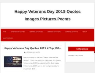happyveteransday2015.com screenshot