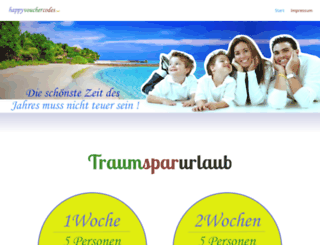 happyvouchercodes.com screenshot