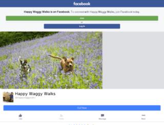 happywaggywalks.co.uk screenshot