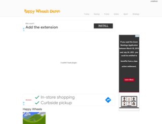 happywheels-demo.net screenshot