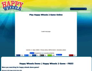 happywheels-game.net screenshot