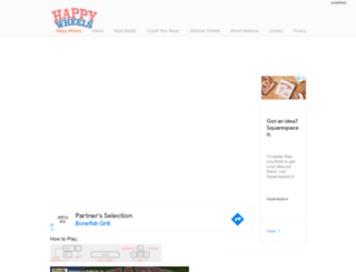 happywheels.us.com screenshot