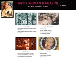 happywomanmagazine.com screenshot