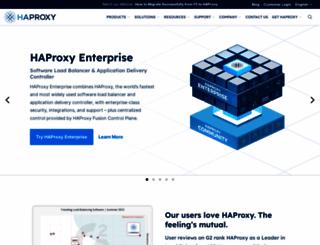 haproxy.com screenshot